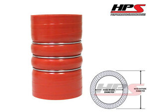 Hps 3 1 8 80mm 4 ply Silicone Charge Air Cooler Cac Turbo Coupler Hump Hose Hot