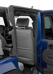 2010 2017 Jeep Wrangler Unlimited Bestop Door Surrounds Rear Window Bar Kit