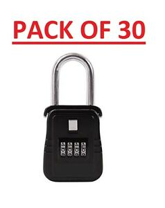 Pack Of 30 Lockbox Key Lock Box For Realtor Real Estate 4 Digit