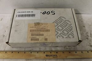 Oem Crown Card Calibration Reman 103849 00r 0s New Old Stock Forklift Parts