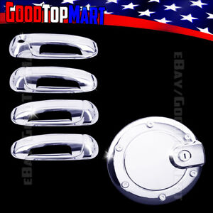 For Jeep Liberty 2002 2003 2004 2005 2006 2007 Chrome Covers Set 4 Doors W O Gas