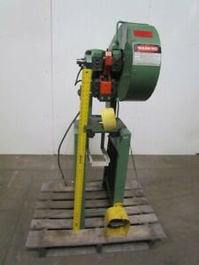 No 0 a 5 Ton Mechanical Trip Punch Press 1 1 8 Stroke 3 1 2 Throat