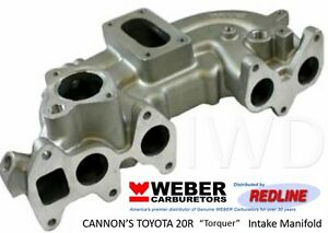 Toyota 20r 1975 1980 High Performance New Torquer Cannon Intake Manifold