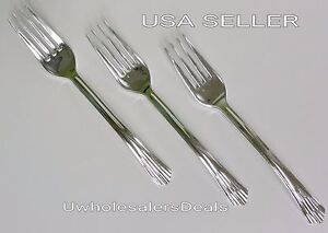 48 Plastic Silver Forks Disposable Cutlery Look Of Silverware