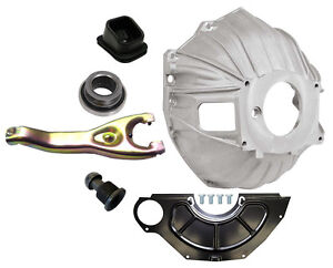 New Chevy Bellhousing Kit cover clutch Fork throwout Bearing gm 621 11 3899621