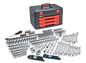 Gearwrench 239pc Sae Metric Complete Master Mechanics Tool Set With Box 80942