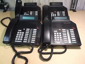 Meridian Northern Telecom Nt9k16ac03 Lot Of 4 Office Phones 103474509
