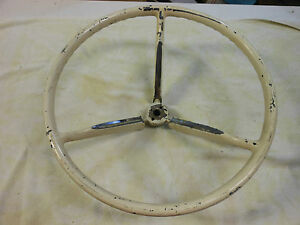1958 1959 Edsel Pacer Thunderbird Steering Wheel