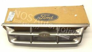 Nos New Genuine Oem 1993 1994 Ford Ranger Styleside Front Grille Needs Paint