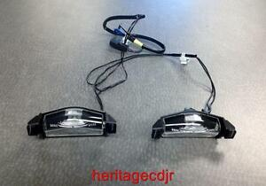 2010 2011 2012 Mazda 3 Oem License Plate Tag Lamps Bbm4 51 270d