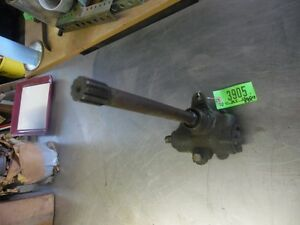 John Deere Mt Steering Box Assembly And Shaft 3905