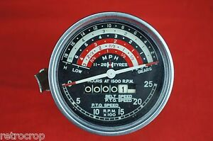Genuine Ih Tach Tachometer Gauge International Harvester Tractor Proofmeter Tach