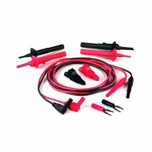 Tpi Tls2000rb Right Angle Plug Deluxe Test Lead Kit With Silicone Insulation