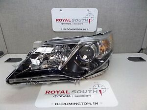 Toyota Camry Se 12 14 Left Front Headlight Genuine Oem Oe