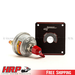 Longacre 45760 Battery Disconnect Switch W Panel 2 Terminal
