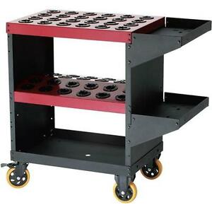 T10048 Grizzly Collet Tooling Cart For Nt40
