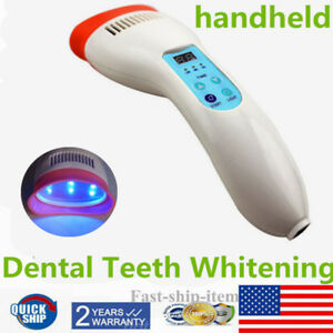 Professional Handheld Portable Dental Teeth Whitening Bleaching Light Led Lamp