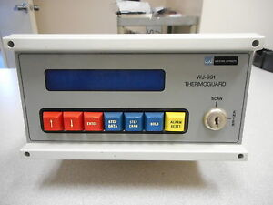Watkins Johnson Wj 991 Thermoguard Overtemperature Control Unit