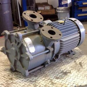 Sutorbilt Cooper Industries 20hp Liquid Ring Pump Model Chr1200s