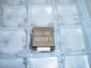 Eaton Bussmann Hc3 1r0 r Fixed Ind 1uh 78a 0 42 Mohm Smd Inductor Qty 8