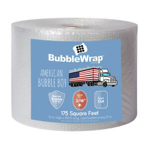 12 Wide 175 Long 3 16 Small Bubbles Bubble Wrap Perforated Every 12