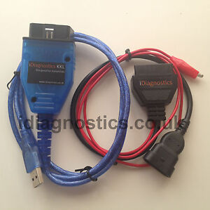 Diagnostic 3 Pin Kkl Obd2 Engine Airbag Alfa Fiat Punto 145 146 155 Multiecuscan