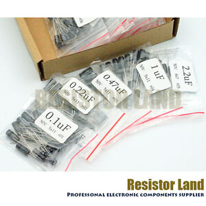 15 Value 200pcs Electrolytic Capacitor Assortment Kit