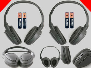2 Wireless Dvd Headphones For Chrysler Town And Country Vehicles New Headsets
