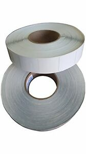 2000 Rf 8 2mhz Checkpoint 410 Compatible Labels 4x4 Plain White 500 Per Roll
