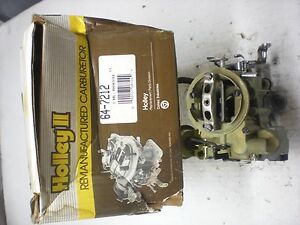 Holley Rebuilt Rochester 7043014 1973 Buick chevy oldsmobile pontiac 250 Engine