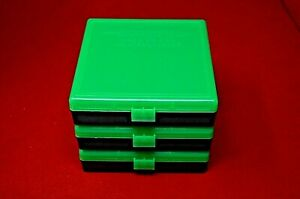 45 ACP  40 CAL  10MM PLASTIC STORAGE AMMO BOXES ZOMBIE (3 PACK)