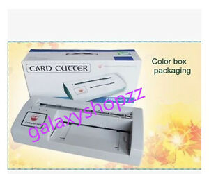 300b Automatic Name Card Slitter business Card Cutting Machine name Card Cutter