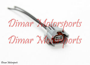 Denso High Impedance Female Fuel Injector Connector Electrical Plug Pigtail