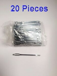 20 Pieces Replacement Split Eye Insertion Needle For Tire Plug Reamer Tool