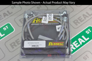 Russell Stainless Steel Brake Line Hose Kit 02 06 Rsx Base Type S 03 05 Civic Si