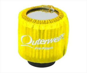 Outerwear Yellow Shielded Breather Pre Filter Dirt Racing Ump Imca Outer Wear