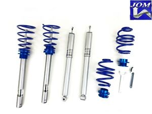 Adjustable Coilover Kit Bmw 3 Series E30 Convertible 1982 1992 Jom