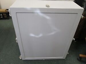 Non metallic Enclosure Size 34 x 28 X 12 Gasketed no Backplate Nema 4 New