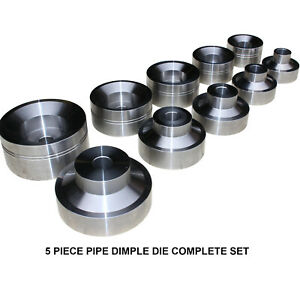 Swag Off Road Pipe Dimple Die Set 5 Pieces