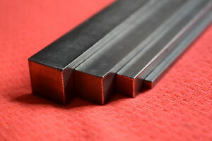 316 A4 Stainless Steel Square Bar 3mm 4mm 5mm 6mm 8mm 10mm 12mm Model Makers
