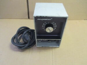 Powerstat N10b Variable Transformer
