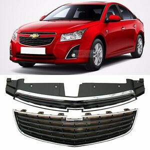 Oem Genuine Parts Front Grille Upr low Chrome For Chevrolet 2013 2014 Cruze