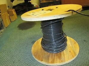 Abci Building Wire Ez wire Bez00819blk 8 Awg 19 Strand 600v Approx 110ft Used