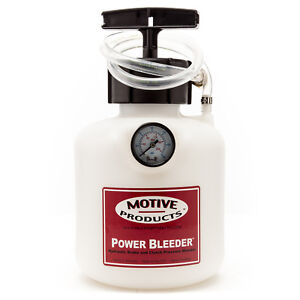 Motive Products Round Universal Power Bleeder W Adapter Pn 0101