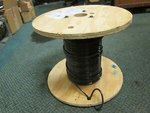 Abci Building Wire Ez wire Bez00819blk 8 Awg 19 Strand 600v Approx 186ft Used