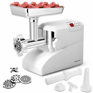 2000 Watt Meat Grinder Electric 2 6 Hp Industrial Meat Grinder 3 Speed W 3 Blade