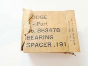 Dodge Wc Dodge M37 Bearing Spacer 191 193 185 New Old Stock