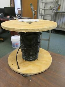 Abci Building Wire Ez wire Bez00819blk 8 Awg 19 Strand 600v Approx 101 Ft Used