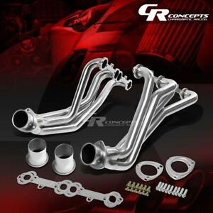 For 67 77 Gm Chevy Action line Sbc V8 Stainless Exhaust Manifold Header gaskets