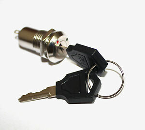 K3 Key Switch On off Lock Switch Two Keys Key Set Mini Key Switch Ignition Fu